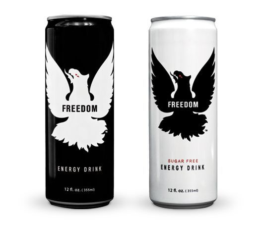 Freedom Energy Drink: Regular and sugar free