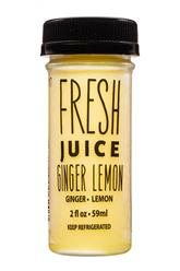Ginger Lemon- Fresh Juice