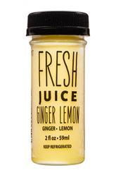 Ginger Lemon- Fresh Juice