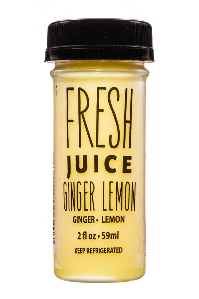 Fresh Juice (by Ripe Craft Juice): RipeCraftJuice-FreshJuice-2oz-GingerLemon-Front