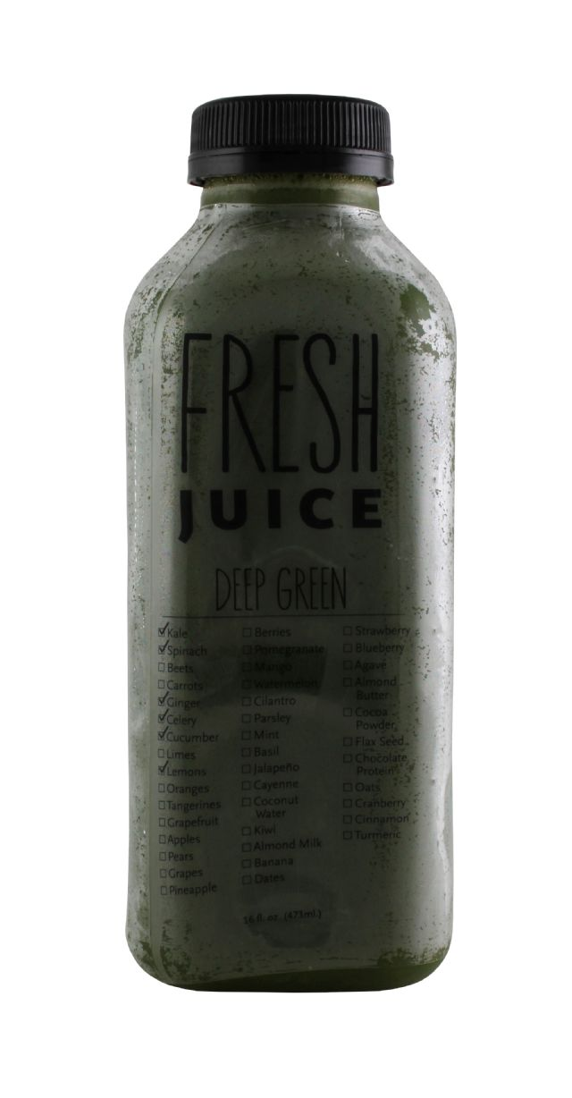 Fresh Juice (by Ripe Craft Juice): Ripe DeepGreen Front