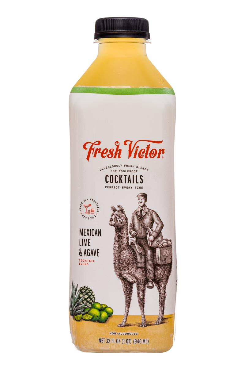 Fresh Victor: FreshVictor-32oz-CocktailBlend-MexicanLimeAgave-Front