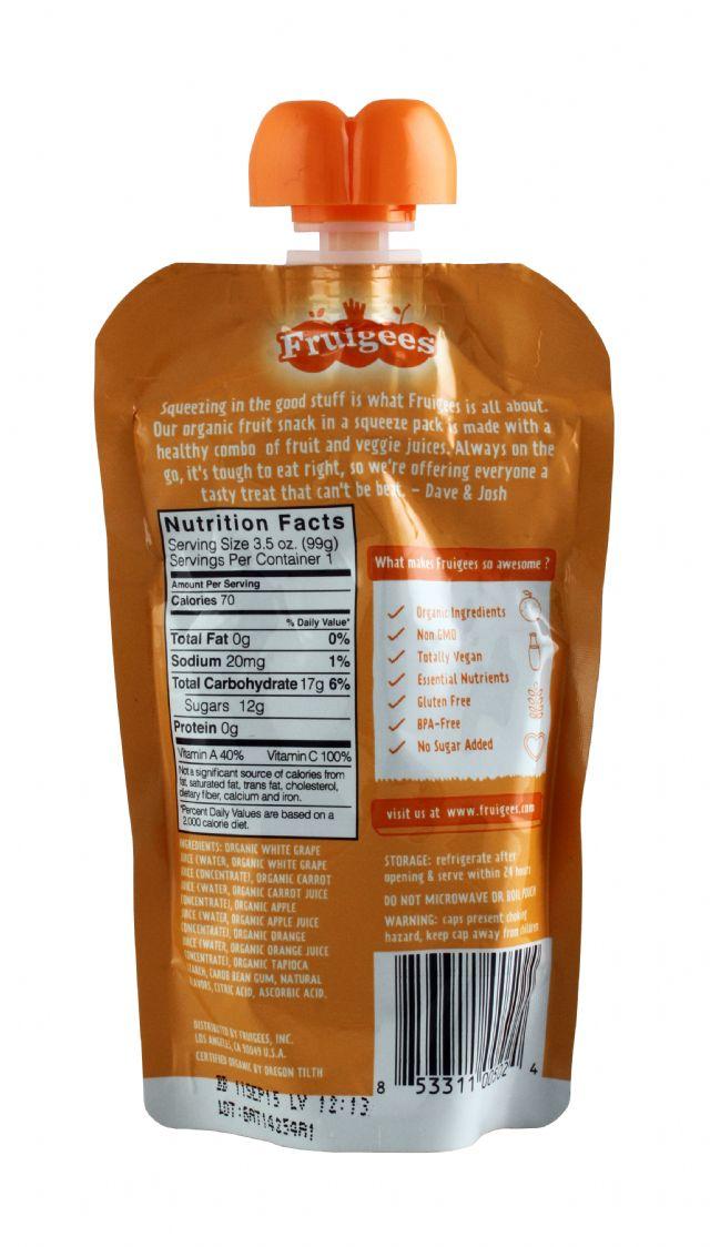 Fruigees: Fruigees 24CarrotOrange Facts