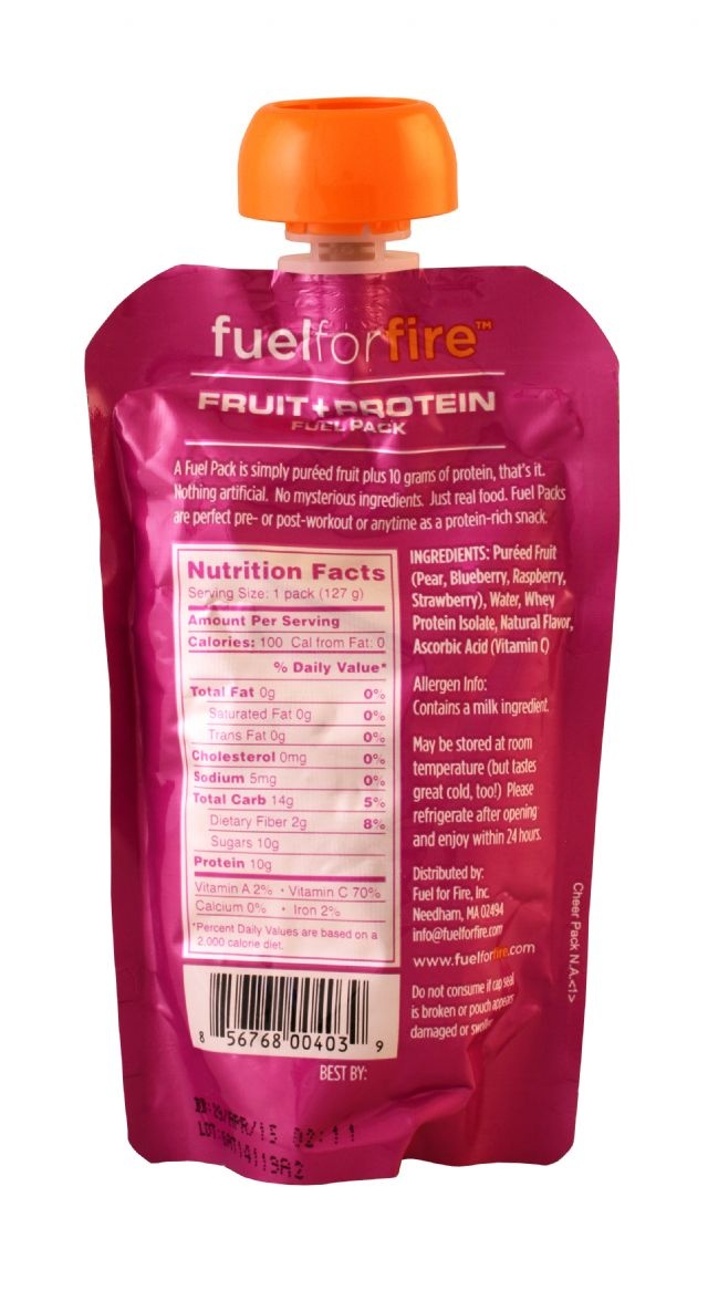 Fuel for Fire: FuelforFIRE TripleBerry Facts