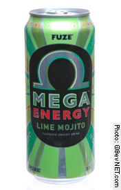 Lime Mojito Mega Energy Drink