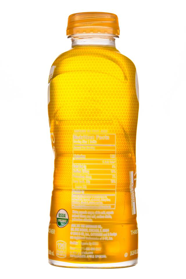 Gatorade Organic: Gatorade-Organic-17oz-Lemon-Facts
