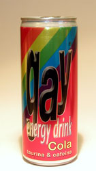 Gay Energy Cola Drink