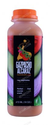 Gazpacho Alcaraz, The Drinkable Salad