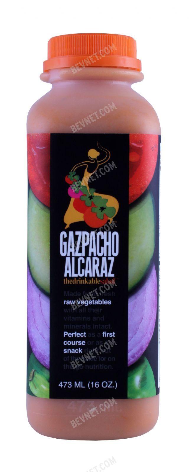 Gazpacho Alcaraz, The Drinkable Salad: