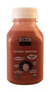Berry Coconut Smoothie - 8 oz