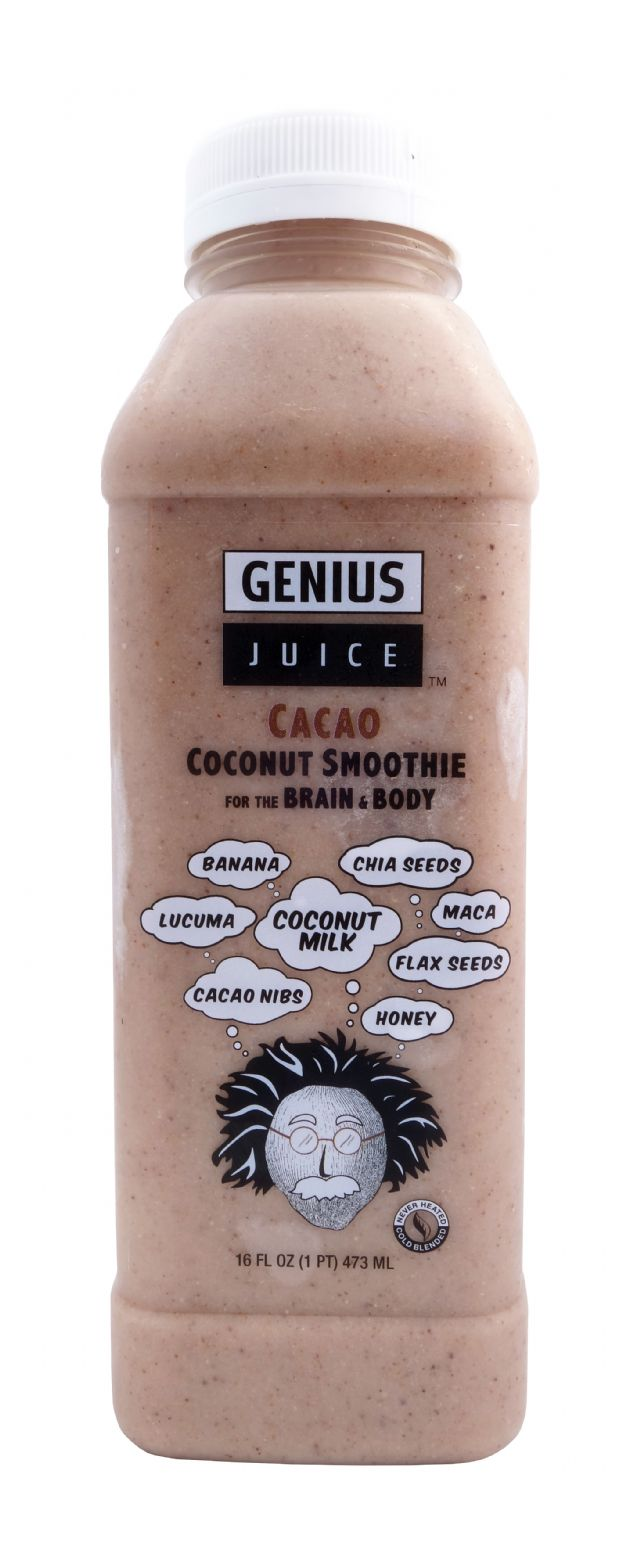 Genius Coconut Smoothies: GeniusJuice Cacao Front