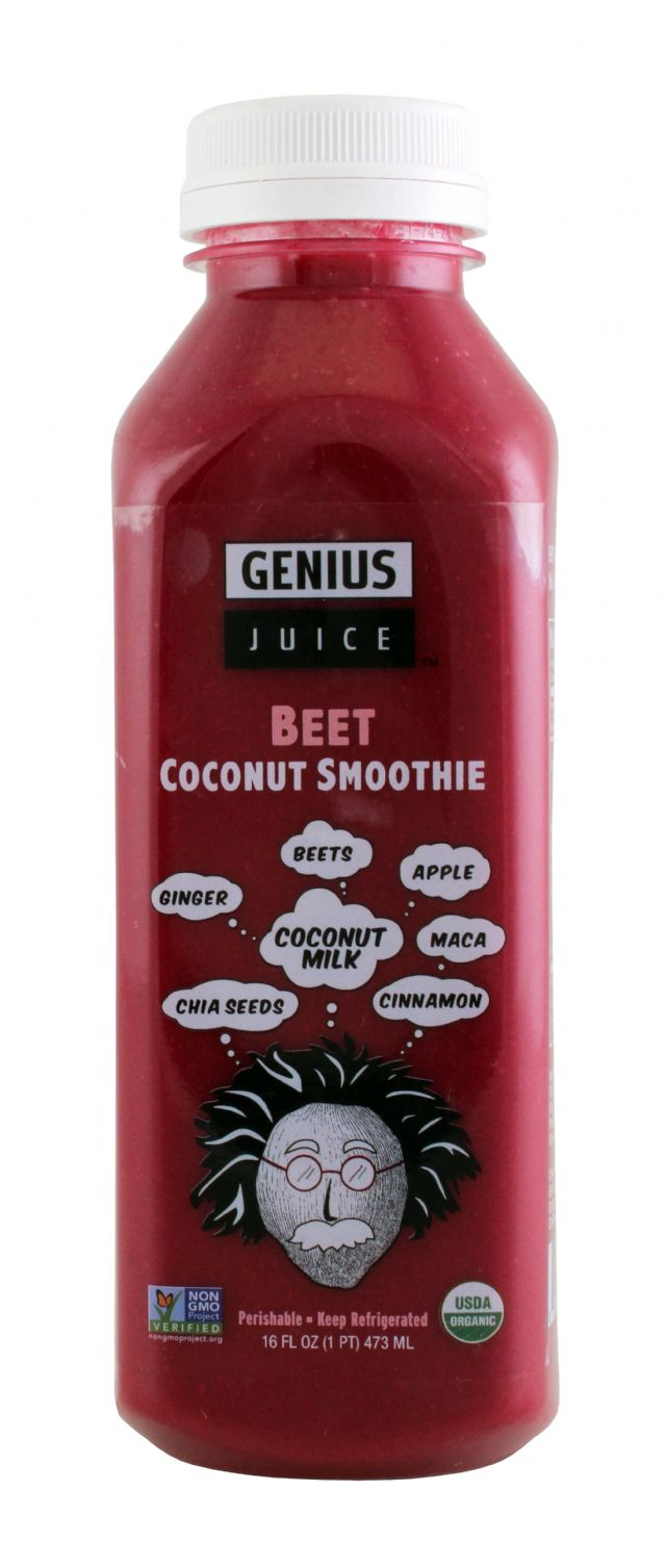 Genius Superfood Smoothies: GeniusJuice Beet Front