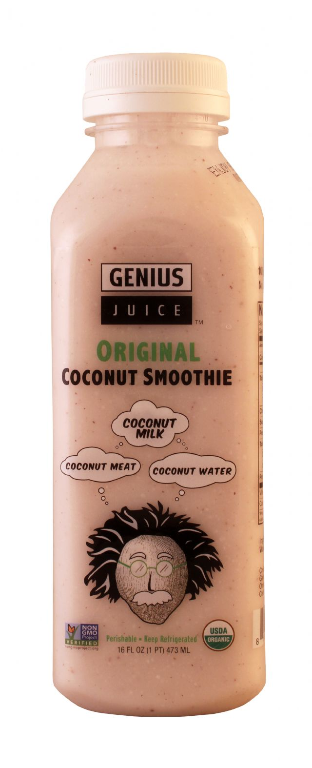 Genius Coconut Smoothies: Genius Original Front