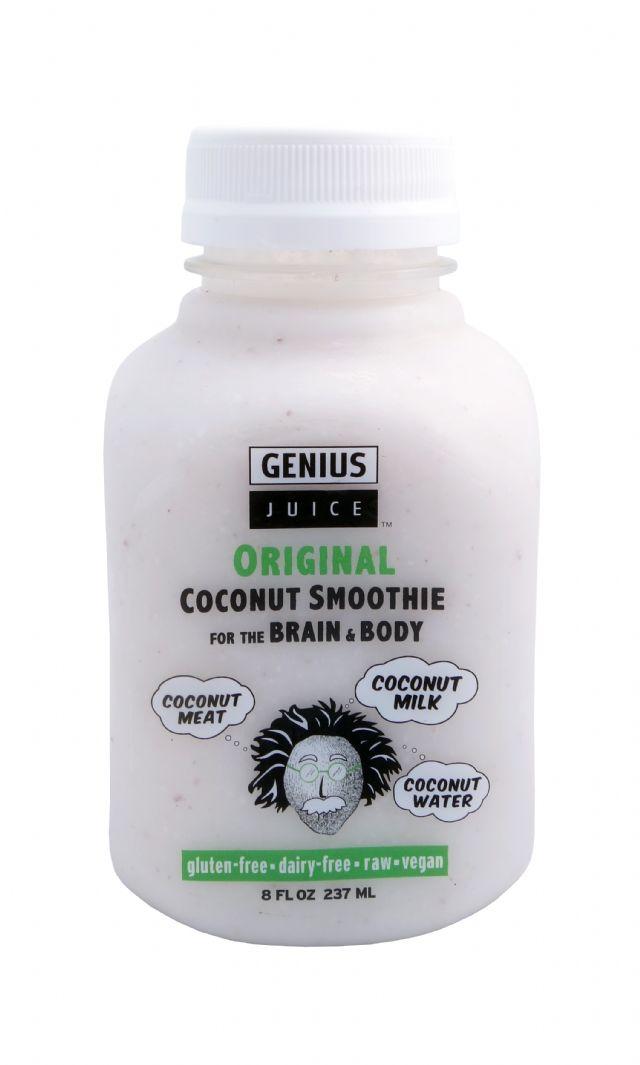 Genius Coconut Smoothies: GeniusJuice Original Front