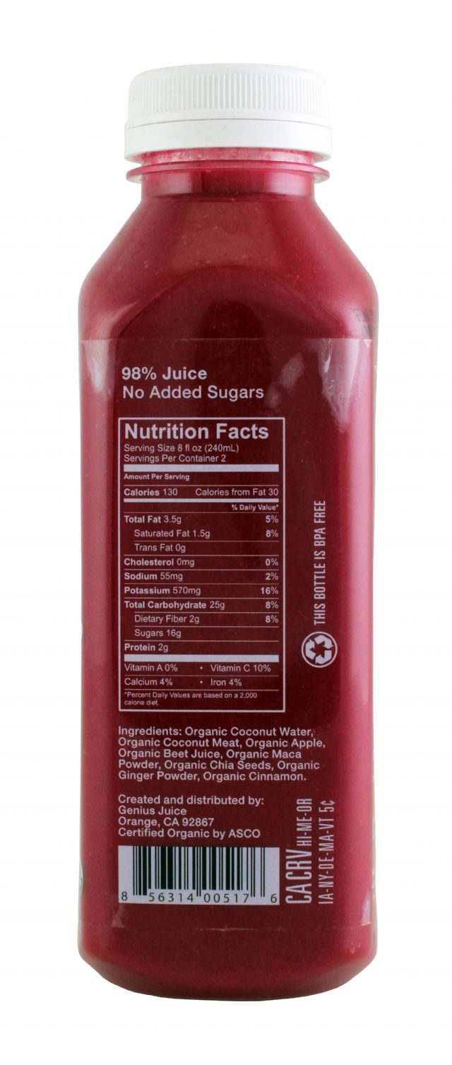 Genius Superfood Smoothies: GeniusJuice Beet Facts