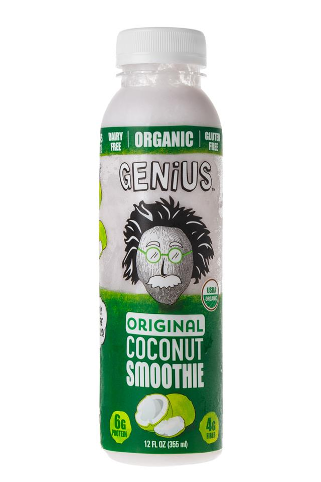 Genius Coconut Smoothies: Genius-OG-Front