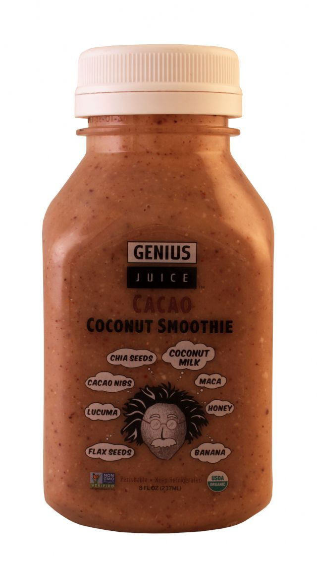 Genius Superfood Smoothies: Genius CacaoSM Front