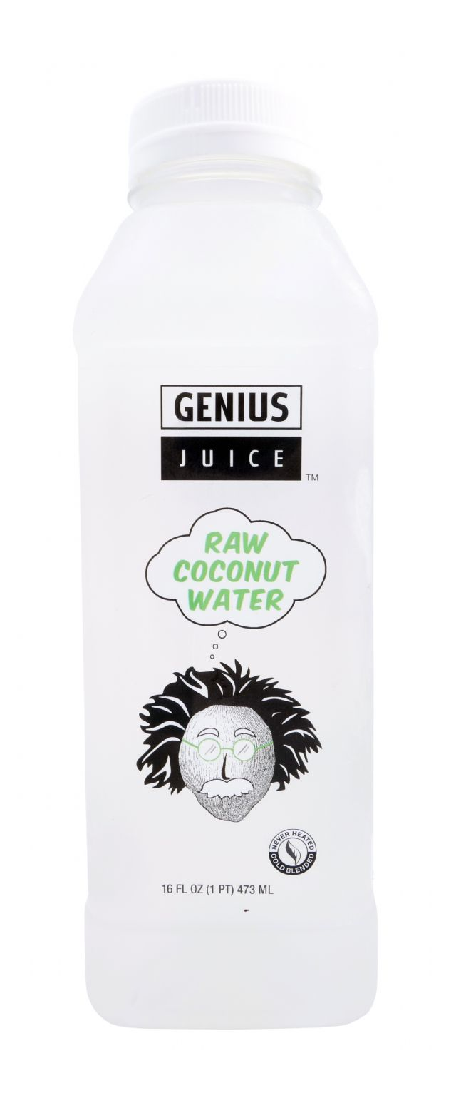 Genius Superfood Smoothies: GeniusJuice Coconut Front