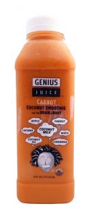 Genius Coconut Smoothies: GeniusJuice Carrot Front