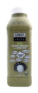 Genius Coconut Smoothies: GeniusJuice Kale Front