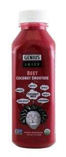 Genius Coconut Smoothies: GeniusJuice Beet Front