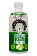 Genius Coconut Smoothies: Genius-12oz-Original-CoconutSmoothie-Front
