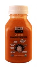 Genius Coconut Smoothies: Genius CarrotSM Front