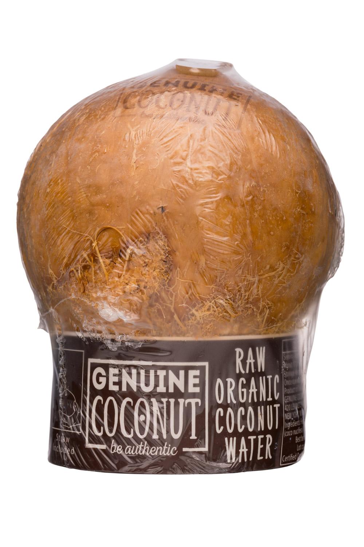 Genuine Coconut: GenuineCoconut-10oz-RawCoconutWater-Front