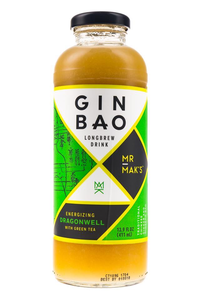 Mr Mak's Ginbao: GinBao-14oz-Longbrew-Dragonwell-Front
