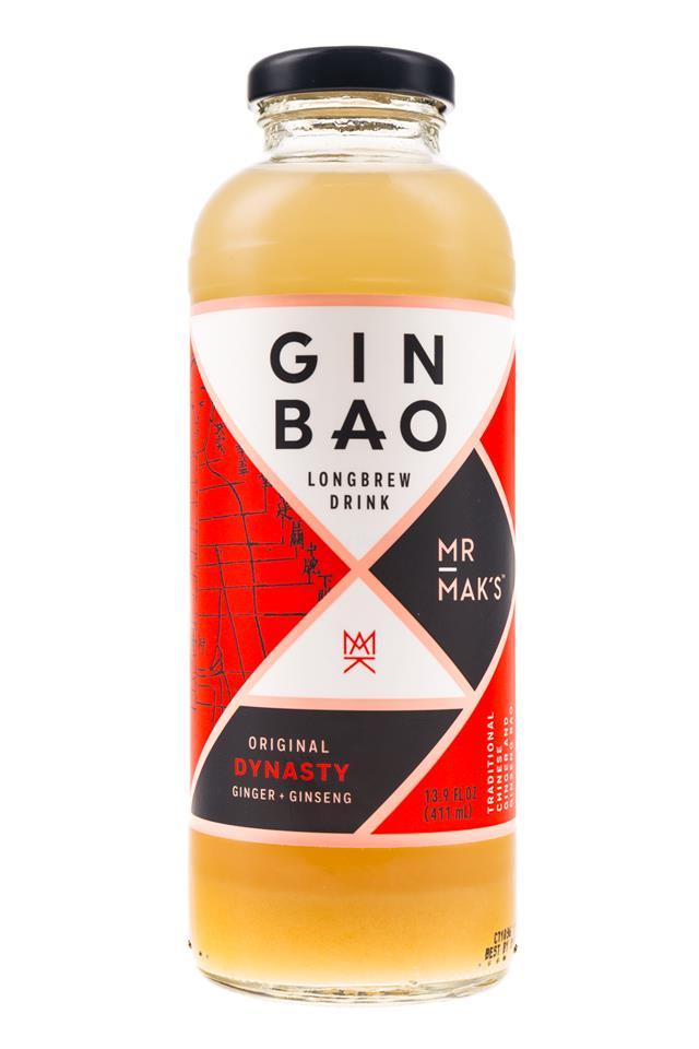Mr Mak's Ginbao: GinBao-14oz-Longbrew-Dynasty-Front