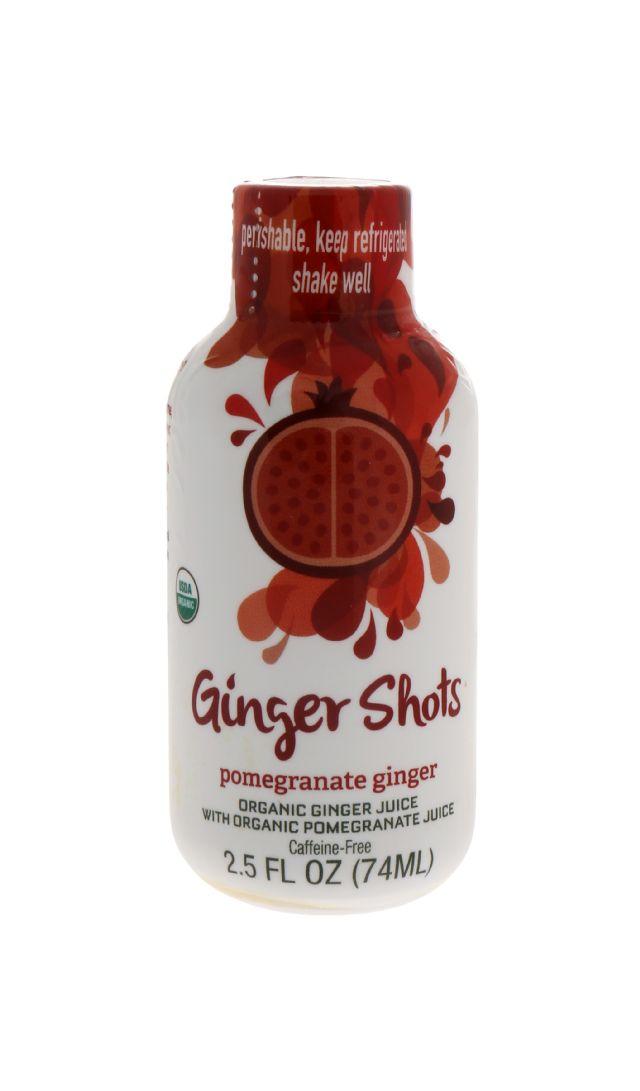 Ginger Shots: GingerShots PomGing Front