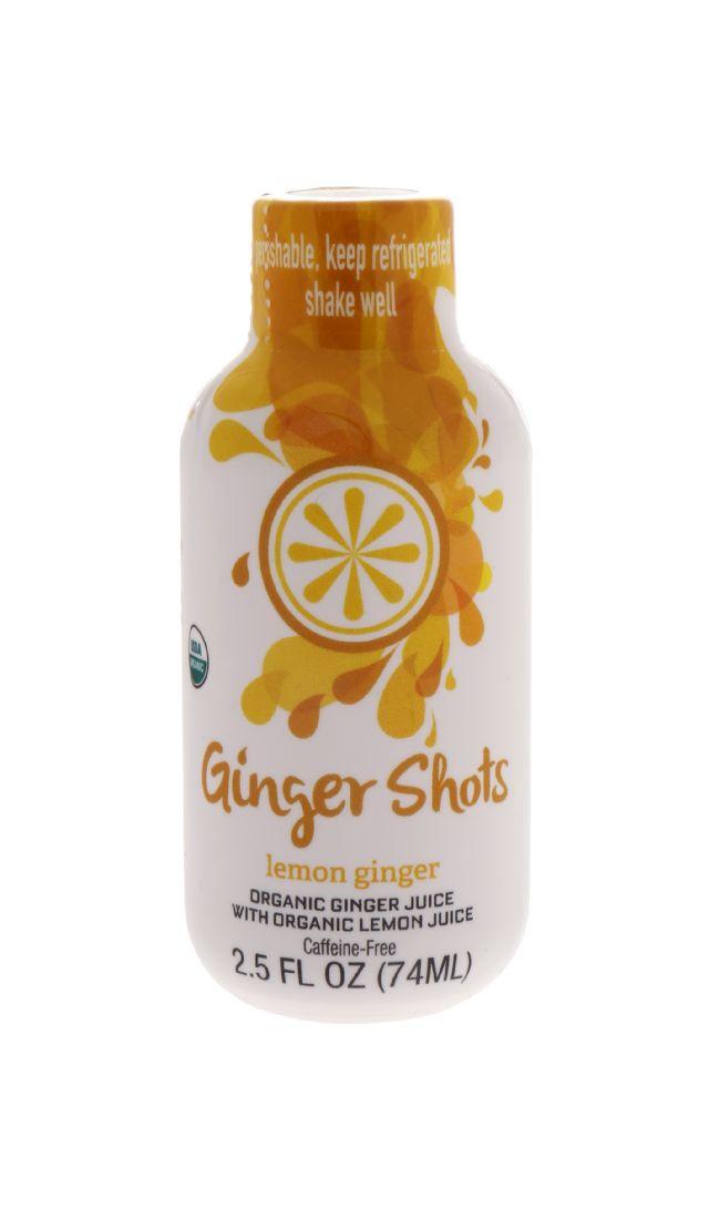 Ginger Shots: GingerShots LemGing Front