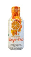 Ginger Shots: Ginger Orange Front