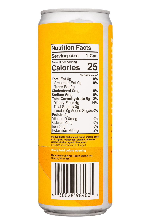 Gist: Gist-12oz-2021-Prebiotics-GingerRooibos-Facts