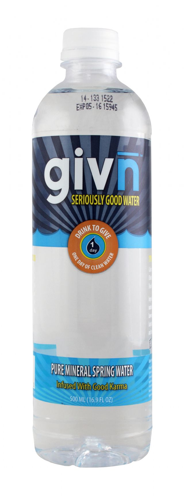GIVN Water: Givn Front