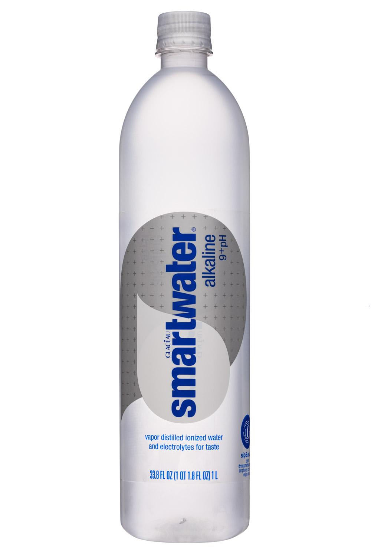 Glacéau Smartwater: SmartWater-34oz-Glaceau-Alkaline-Front