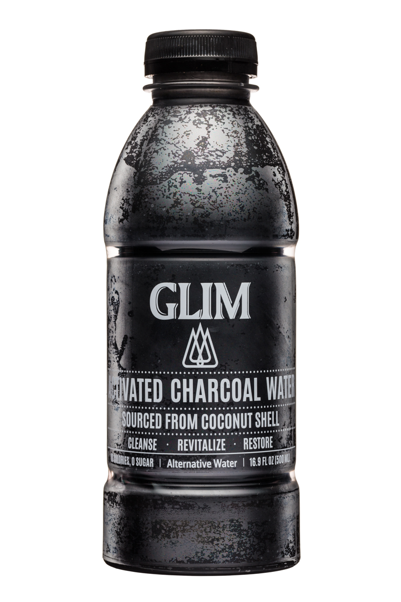 Glim: Glim-ActivatedCharcoalWater-Front