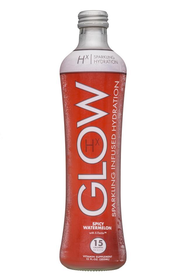Glow: Glow-12oz-Sparkling-Hx-SpicyWatermelon-Front
