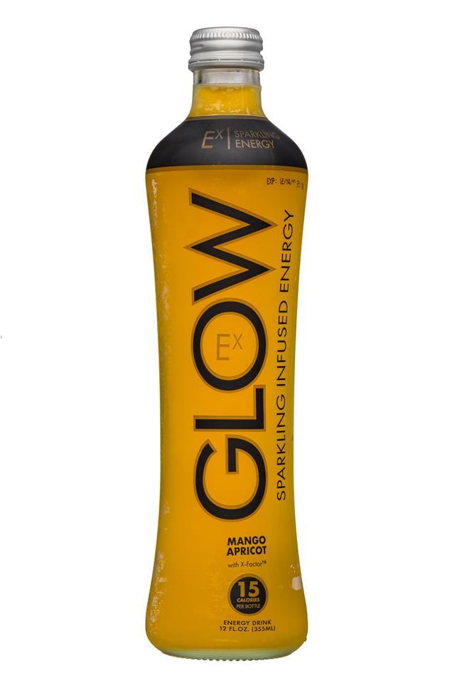 Glow: Glow-12oz-Sparkling-Ex-MangoApricot-Front