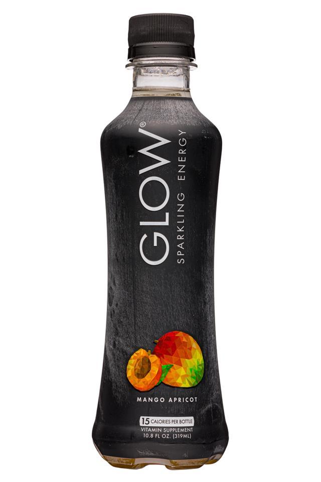 Glow: GLow-11oz-2020-SparklingEnergy-MangoApricot-Front
