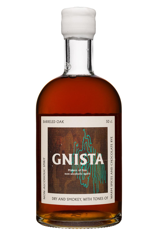 GNISTA: Gnista-50cl-2020-NonAlcSpirit-BarreledOak