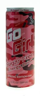 Go Girl Energy Drink: