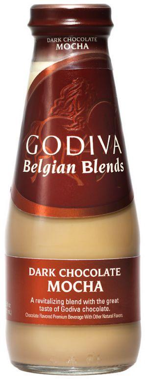 Godiva Belgian Blends: Godiva Belgian Blends- Dark Chocolate Mocha