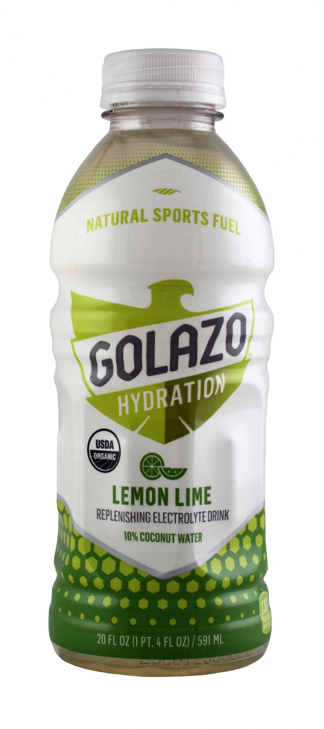 Golazo Natural Sports Fuel: Golazo20 LemonLime Front