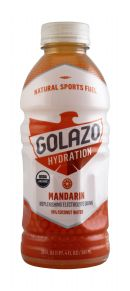 Golazo Natural Sports Fuel: Golazo20 Mandrain Front