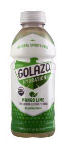 Golazo Natural Sports Fuel: Golazo20 MangoLime Front