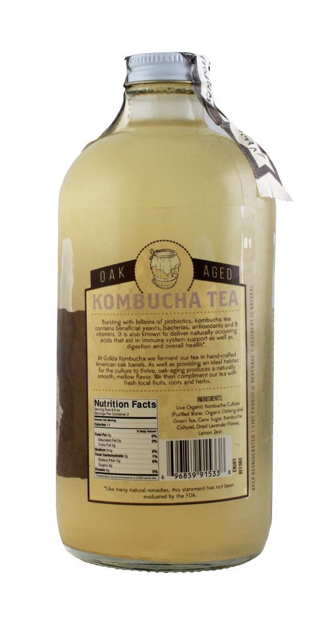 Golda Kombucha: Golda LavLem Facts
