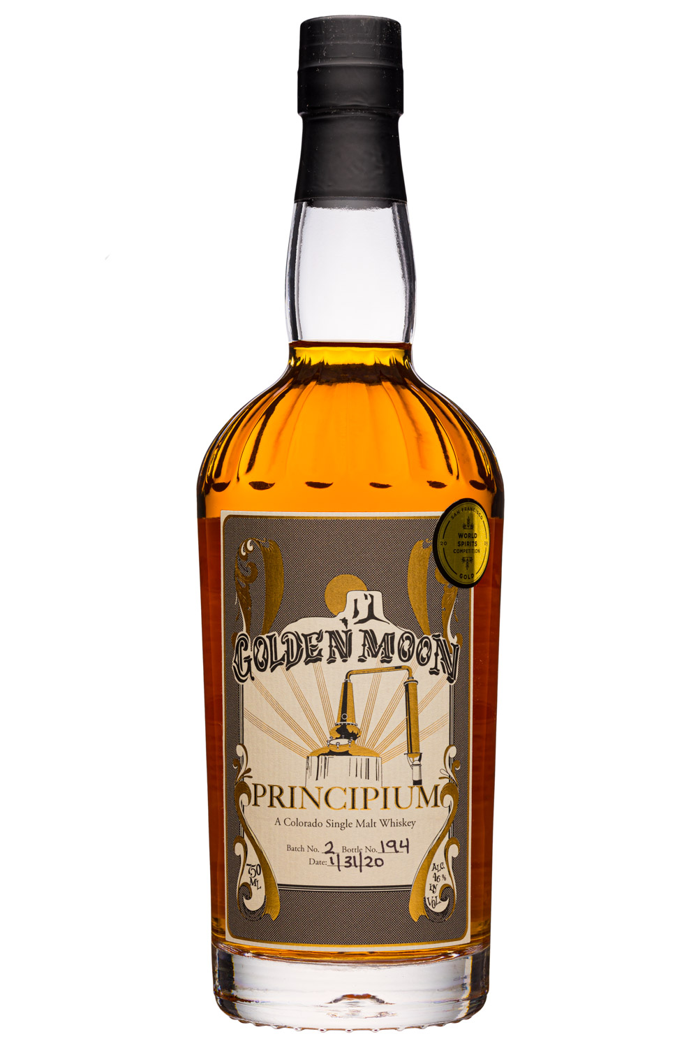 Golden Moon Distillery: GoldenMoon-750ml-Principium