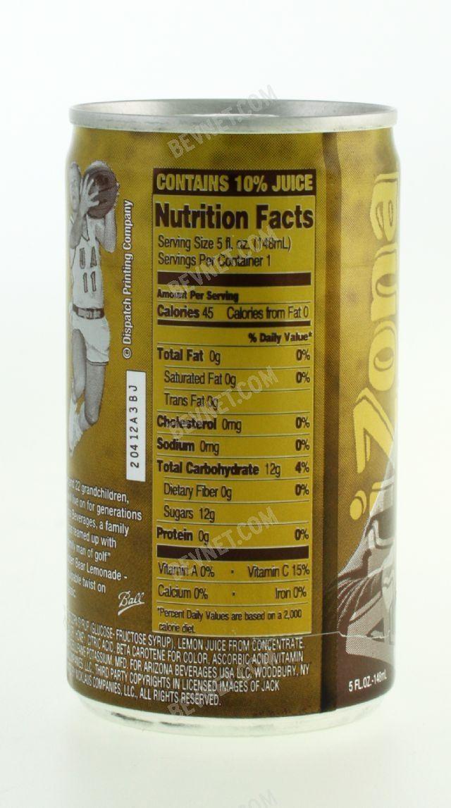 Golden Bear Lemonade: