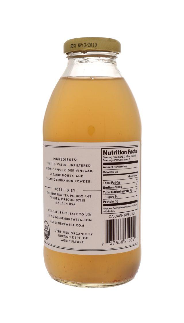 Goldenbrew Tea: GoldenBrew WildHoneyCinn Facts